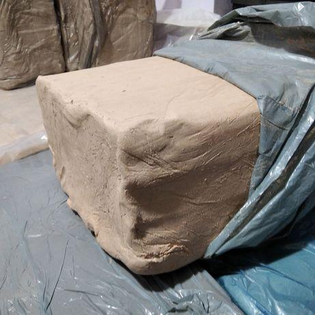 Глина гончарна МКФ-2 вага27кг, глина для гончарного круга