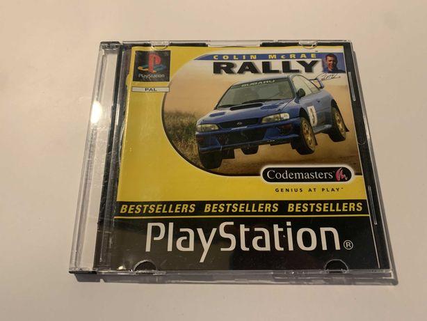 Colin Mcrea Rally Ps1 Playstation 1