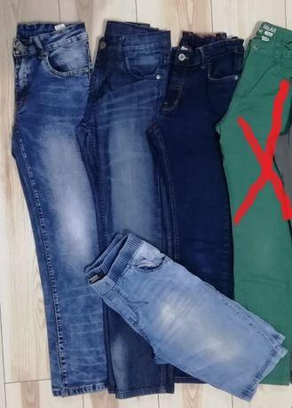eleganckie spodnie , jeansy r. 152