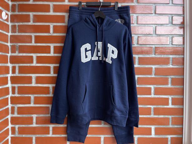 Gap Usa оригинал новый мужской спортивный костюм худи размер L гап