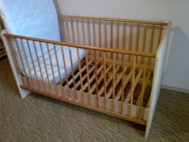 Ліжко дитяче з матрасом з Німеччини (140х70)!