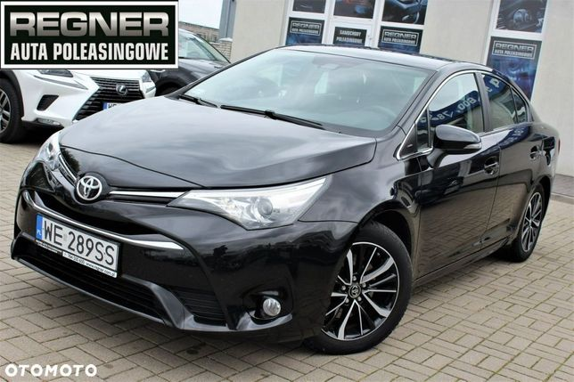 Toyota Avensis Oryginal Lak. SalonPL FV23% 2.0 D4D 143KM Active + Pakiet Premium 1WŁ