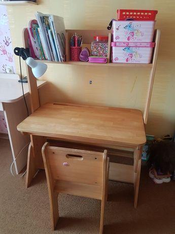 Парта стол-растишка
