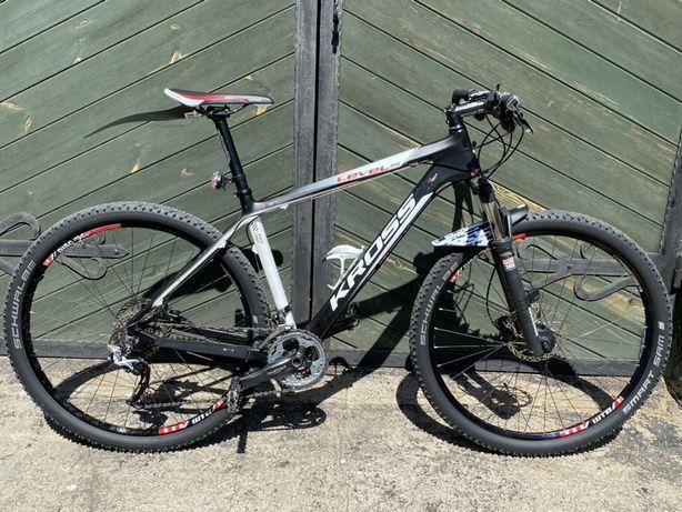 """Rower Kross Level B9 29"""" Carbon rozm L lub ZAMIANA na bieżnię"""