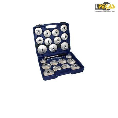 Conjunto de Chave de Filtros de Óleo Alumínio