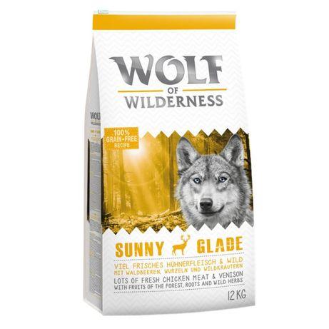 Wolf of Wilderness Adult Sunny Glade, jeleń 12KG