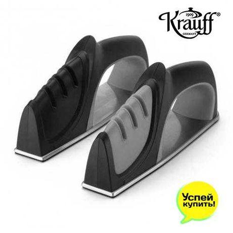 Точилка для ножей и ножниц  Krauff Германия серый/черный