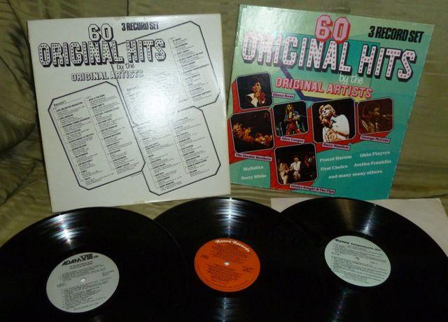 3LP 60 Original Hits by the ORIG. ARTISTS UK EX / ~ NM / ~ NM* / ~ NM