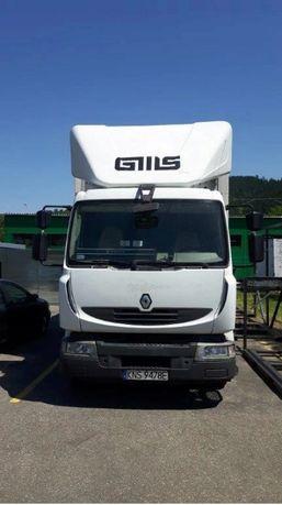 SAMOCHÓD ciężarowy RENAULT MIDLUM 270DXI plandeka