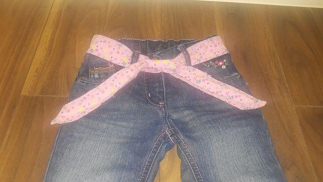 Spodnie jeansy rozm. 92