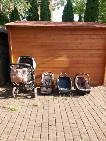 Wózek dziecięcy 3w1 JANE z bazą ISOFIX