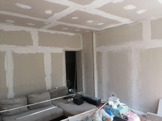 Tanie usługi wykończeniowe Malowanie-Panele-Gładzie i inne