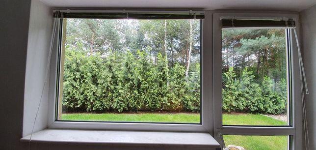 Drzwi balkonowe 88/220 i okno 150/110