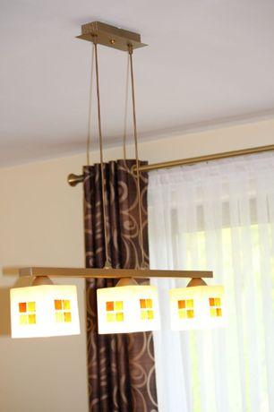 żyrandol nowoczesny , włoski , 3 x LED , stan idealny