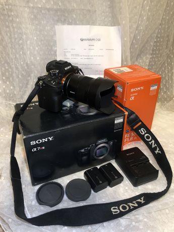 Aparat Sony A7riii + Obiektyw Sony zeiss 55mm