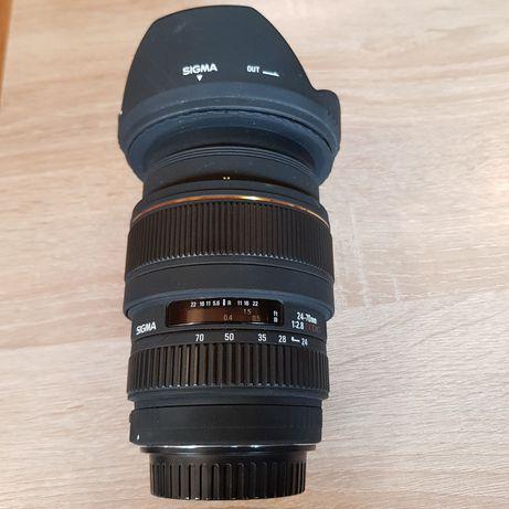 Obiektyw Sigma EX DG 24-70mm F 2,8