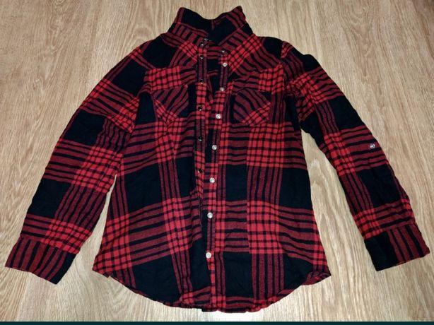 Красная рубашка select
