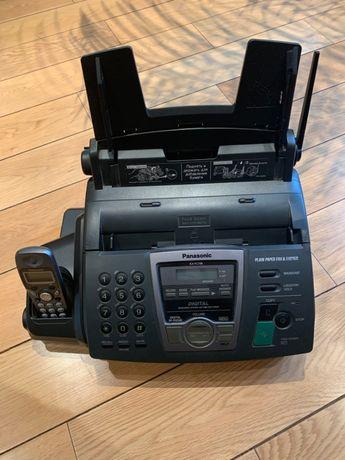 Факсимильный аппарат Panasonic KX-FC195RU - на обычной бумаге