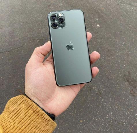 iPhone 11 Pro 64 Gb, Midnight Green, Neverlock.