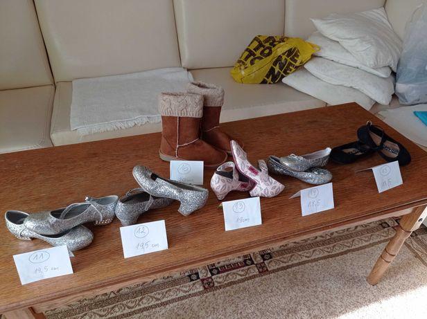 Buty dla dziewczynki - sprzedane 2, 5, 9, 10, 11, 12