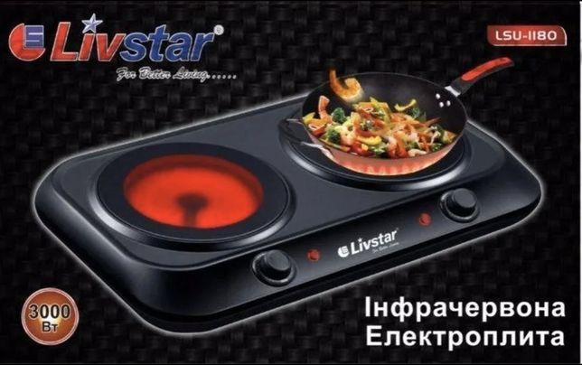 Новая инфракрасная электроплита Livstar LSU 1180 плитка печь плита