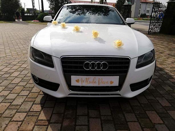 AUDI A5 SPORTBACK DO ŚLUBU, wesela auto do ślubu