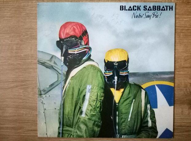 Black Sabbath never say die winyl.