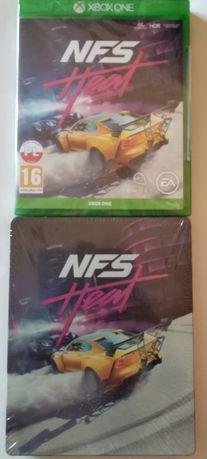 Need For Speed Heat PL + steelbook Xbox one Nowa Folia