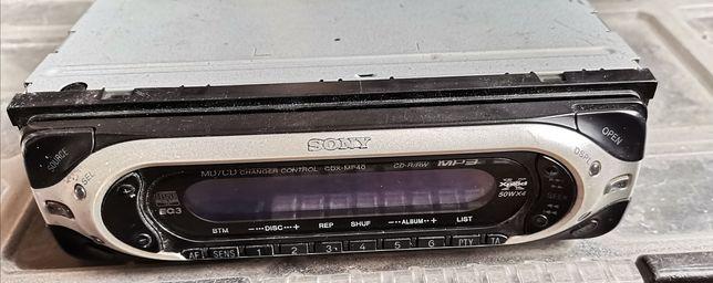 Radio samochodowe Sony cdx 40