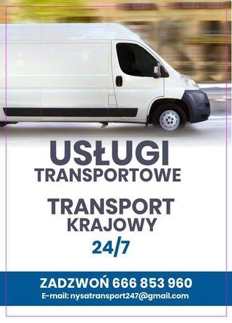 Transport, Usługi transportowe 24/7, Przeprowadzki