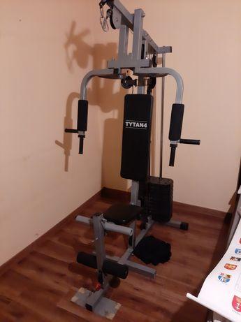 Atlas do ćwiczeń obciążenie 50kg lekko używany