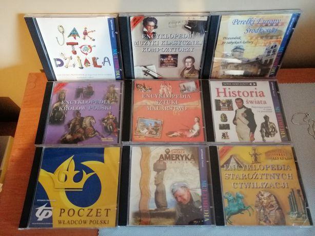Płyty multimedia encyklopedia