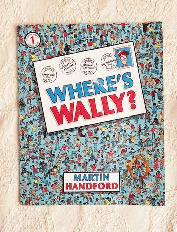 książka Gdzie jest Wally? Where's Wally? Martin Handford