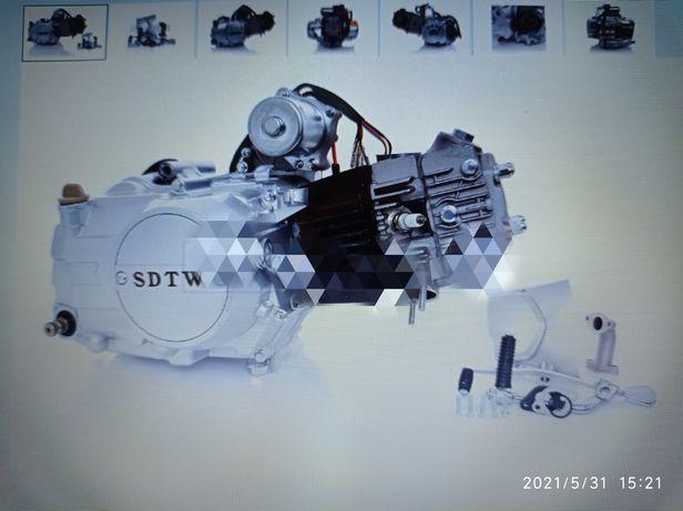 Продам новый двигатель Альфа Дельта 110см3 механика, ЕСТЬ И ДРУГИЕ!