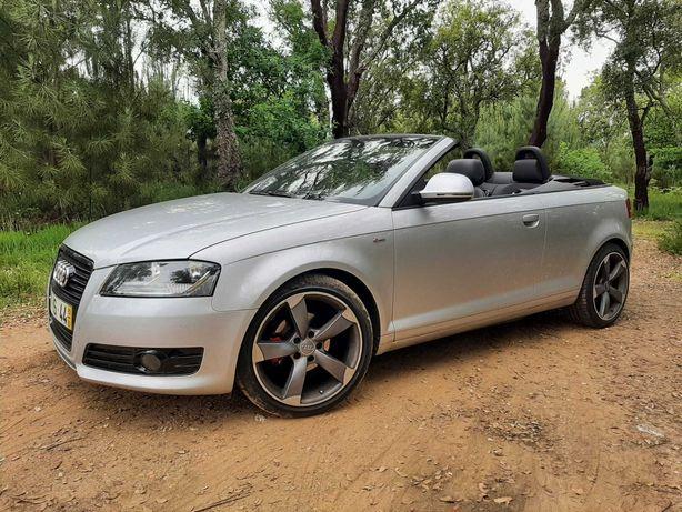 Audi A3 cabrio .