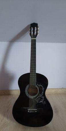 Gitara +pokrowiec i stojak