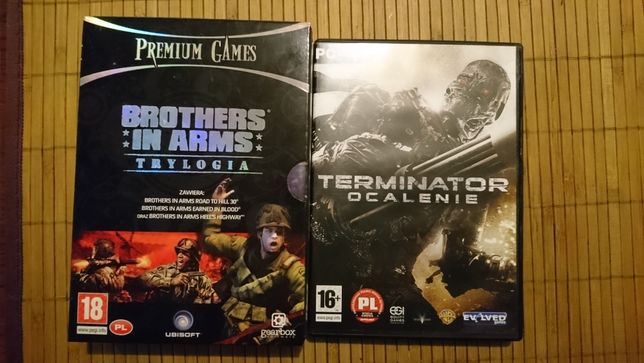 Gry pc Terminator i Trylogia Brothers in Army