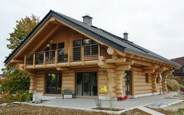 Строю деревянные дома любой сложности ! Срубы , дома с Клеёного Брусса