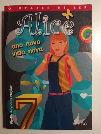 Alice ano novo vida nova livro