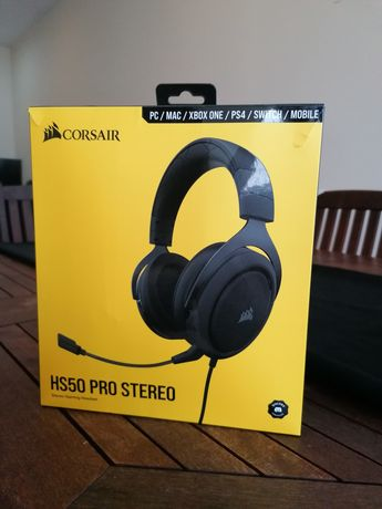 Headphones gaming corsair hs50 pro stereo