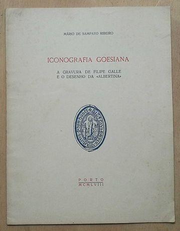 iconografia goesiana, mário de sampayo ribeiro, 1958