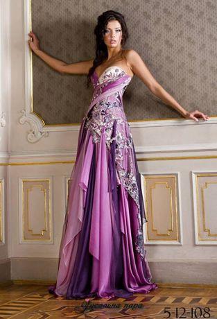 Платье на выпускной от Оксаны Мухи
