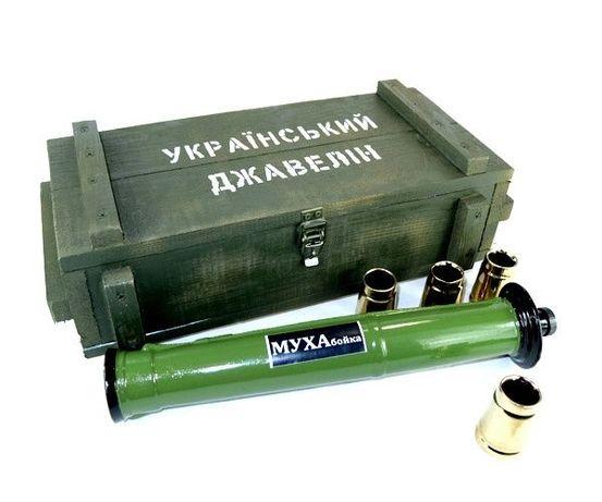 «Український Джавелін» в деревянном ящике - крутой подарок мужчине
