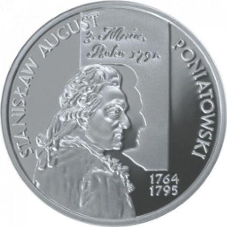 10 zł Stanisław August Poniatowski , popiersie