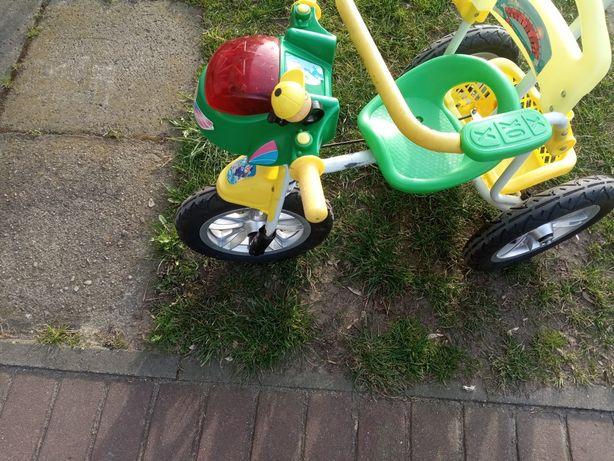 Rowerek-Motorek dla dzieci trójkołowy za chusteczki