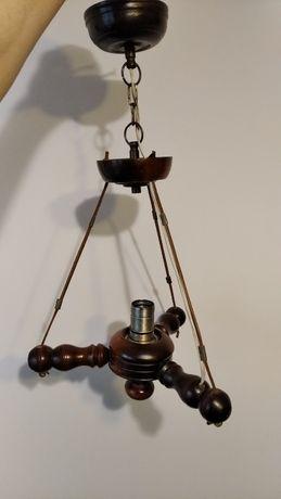 lampa wisząca bez klosza