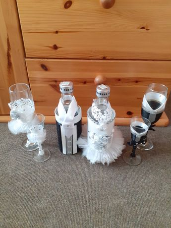 Komplet na wódkę weselna  Pan Tadeusz