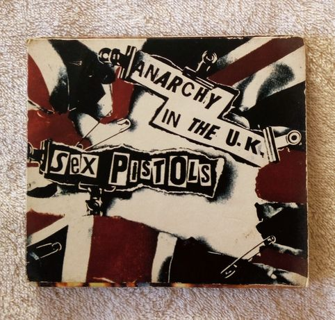 Sex Pistols - Anarchy in UK ( CD Single)