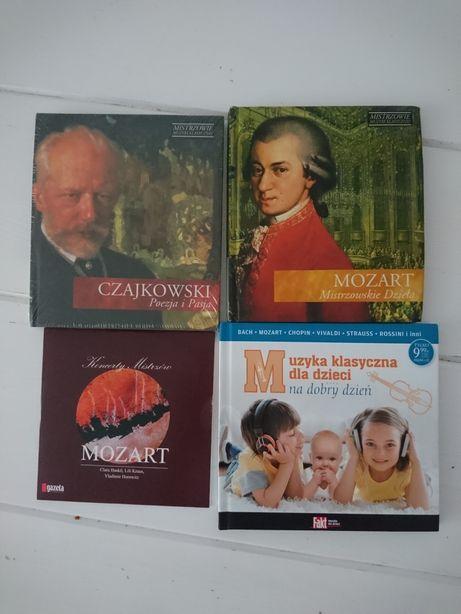 Płyty z muzyką klasyczną Mozart Czajkowski