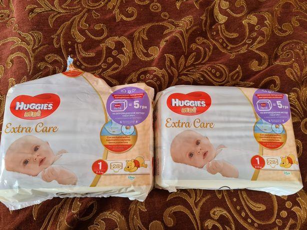 Huggies elite soft 1 хаггис памперсы элит софт,  цена за лот